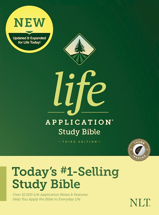NLT Life Application Study Bible (Third Edition)-Hardcover Indexed | SHOPtheWORD