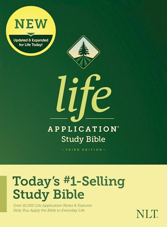 NLT Life Application Study Bible (Third Edition)-Hardcover | SHOPtheWORD