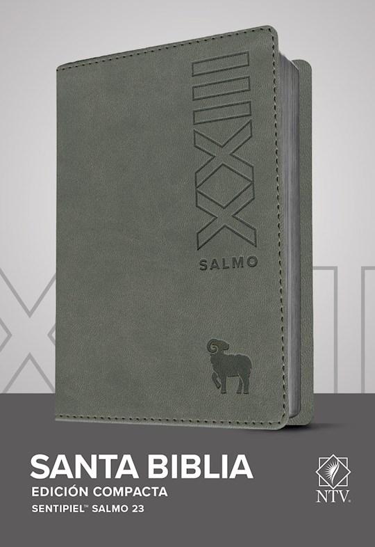 Span-NTV Compact Edition (Ps 23)-Gray LeatherLike (Edición Compacta Salmo 23) | SHOPtheWORD