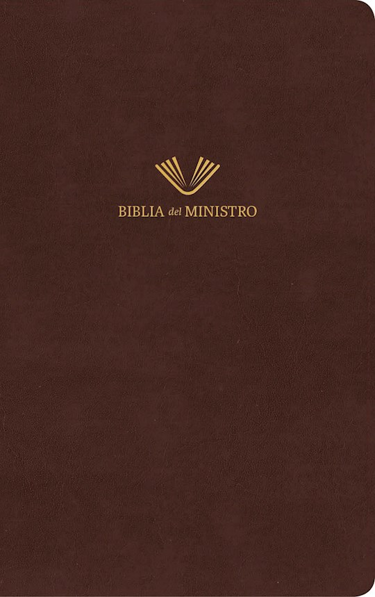 Span-RVR 1960 Minister's Bible (Biblia Del Ministro)-Brown Bonded Leather | SHOPtheWORD