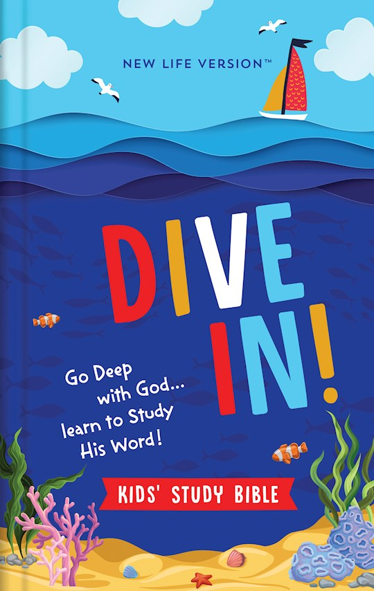 NLV Dive In! Kids' Study Bible-Hardcover | SHOPtheWORD