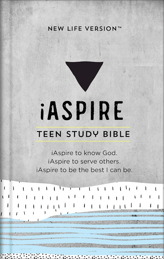 NLV iAspire Teen Study Bible-Hardcover | SHOPtheWORD