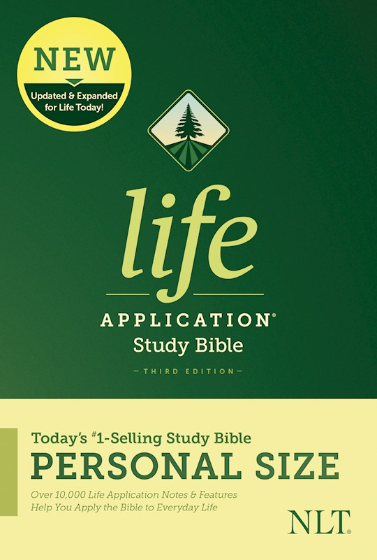 NLT Life Application Study Bible/Personal Size (Third Edition)-Softcover | SHOPtheWORD