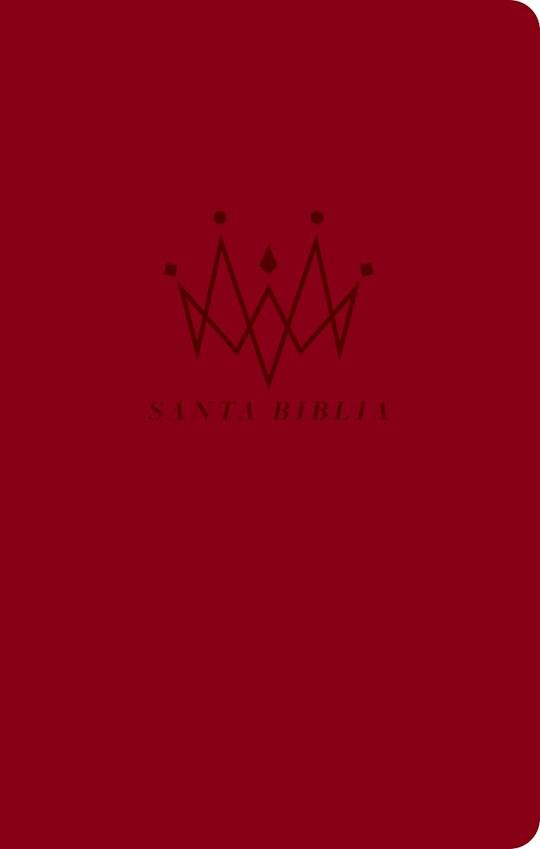 Span-NTV Holy Bible, Agape Edition (Santa Biblia, Edición Ágape)-Red LeatherLike   SHOPtheWORD