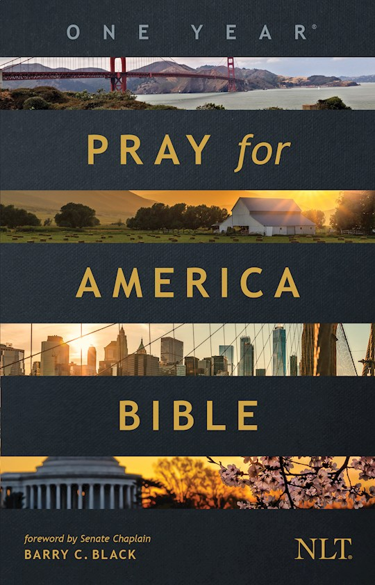 NLT One Year Pray For America Bible-Softcover | SHOPtheWORD