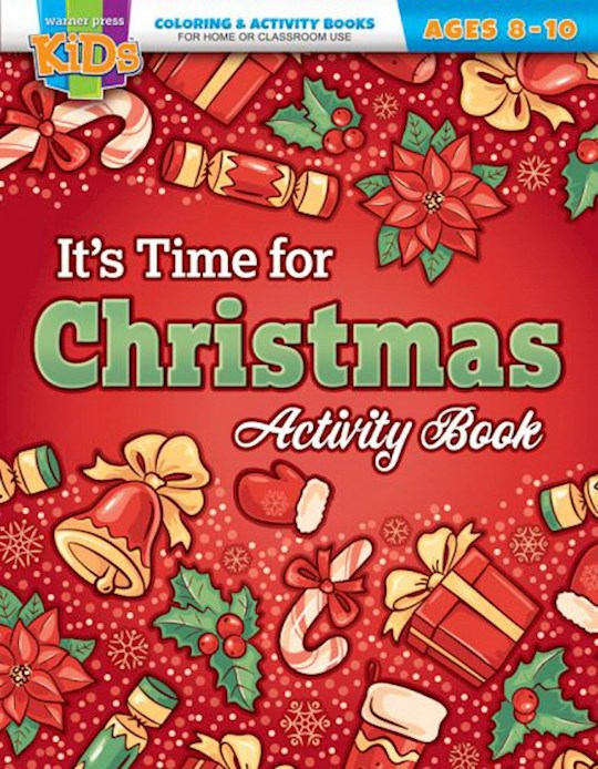It's Time For Christmas Activity Book (Ages 8-10) by Press Kids Warner | SHOPtheWORD
