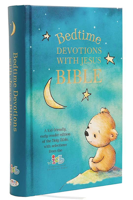 ICB Bedtime Devotions With Jesus Bible-Hardcover | SHOPtheWORD