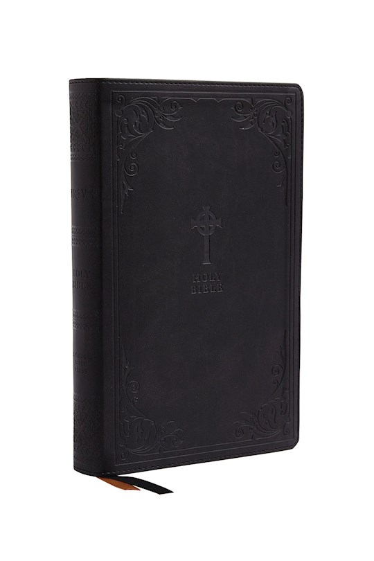 NRSV Catholic Gift Bible (Comfort Print)-Black Leathersoft | SHOPtheWORD