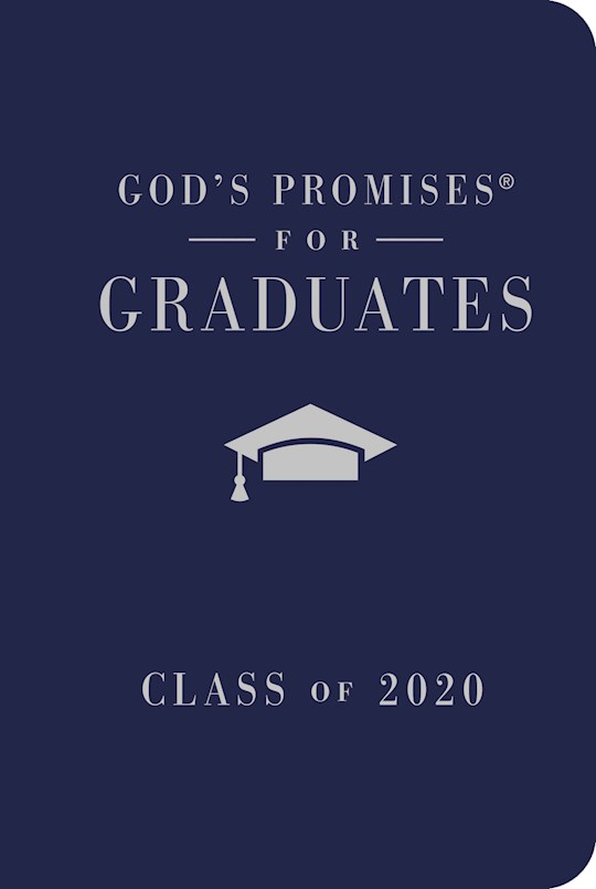 God's Promises For Graduates: Class Of 2020-Navy by Jack Countryman | SHOPtheWORD