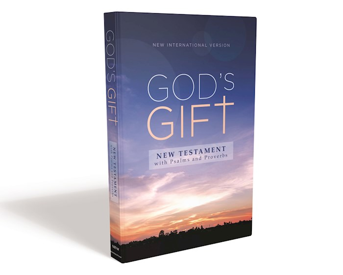 NIV God's Gift New Testament With Psalms And Proverbs (Comfort Print)-Softcover | SHOPtheWORD