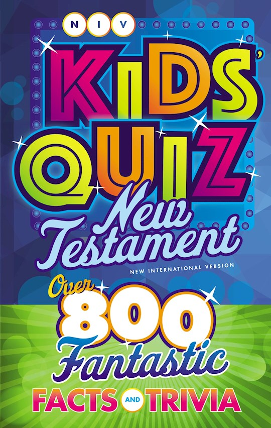 NIV Kids' Quiz New Testament (Comfort Print)-Softcover | SHOPtheWORD