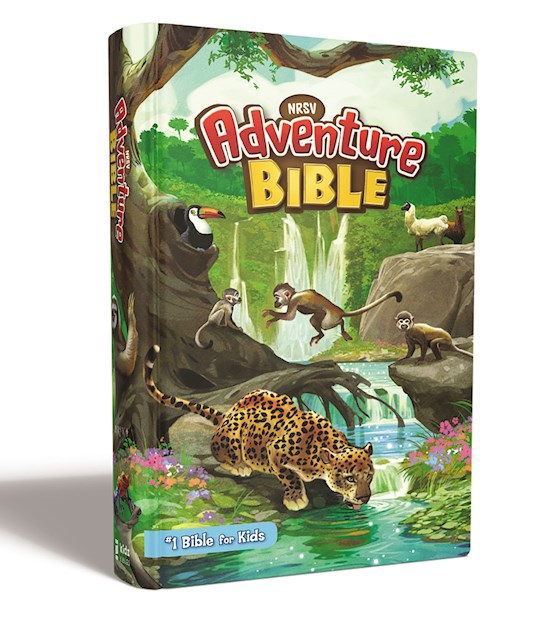 NRSV Adventure Bible (Full Color)-Hardcover | SHOPtheWORD