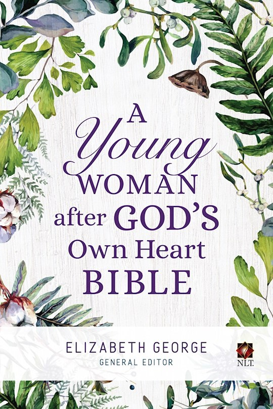 NLT A Young Woman After God's Own Heart Bible-Hardcover   SHOPtheWORD