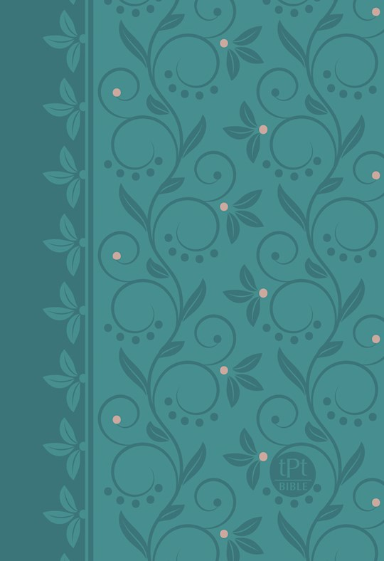 The Passion Translation New Testament (Compact) With Psalms, Proverbs & SOS (2nd Edition)-Teal Imitation Leather | SHOPtheWORD