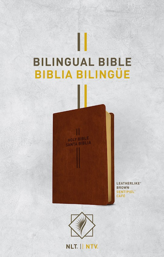 Span-NLT/NTV Bilingual Bible (Biblia Bilingue)-Brown LeatherLike | SHOPtheWORD