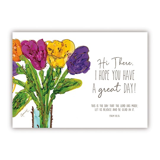 """Postcard-Hi There (6"""" x 4.25"""") (Pack Of 6) 