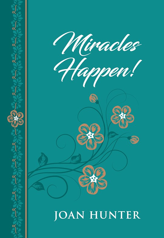 Miracles Happen!-Faux Leather by Joan Hunter | SHOPtheWORD