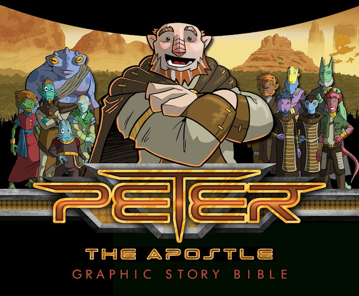 Peter The Apostle: Graphic Story Bible by Mario Dematteo | SHOPtheWORD