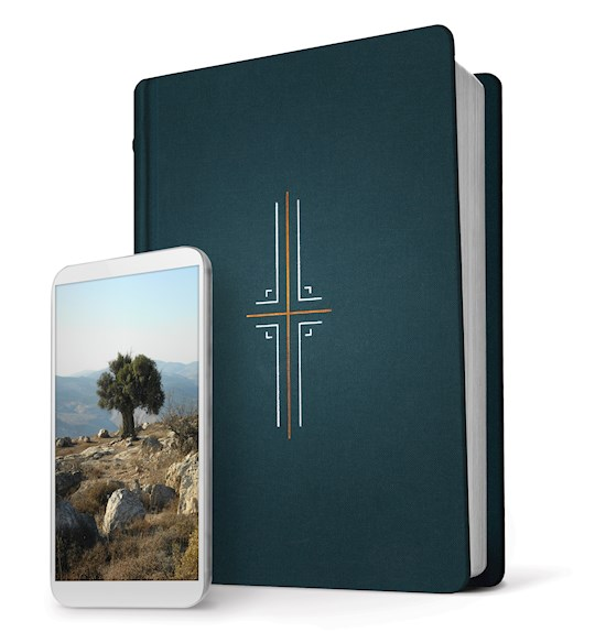 NLT Filament Bible-Midnight Blue Hardcover Indexed | SHOPtheWORD