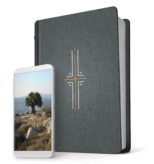 NLT Filament Bible-Gray Hardcover Indexed | SHOPtheWORD