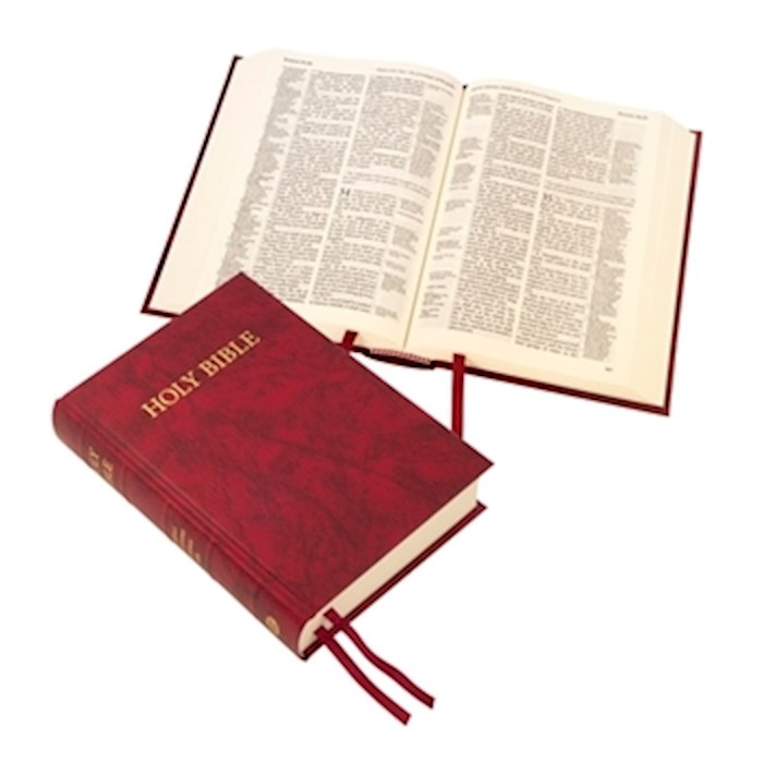 KJV Westminster Reference Bible/Compact Edition-Red Hardcover (#60/ARD) | SHOPtheWORD