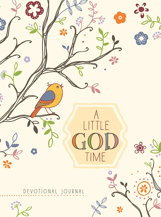 A Little God Time (Rustic) Devotional Journal | SHOPtheWORD