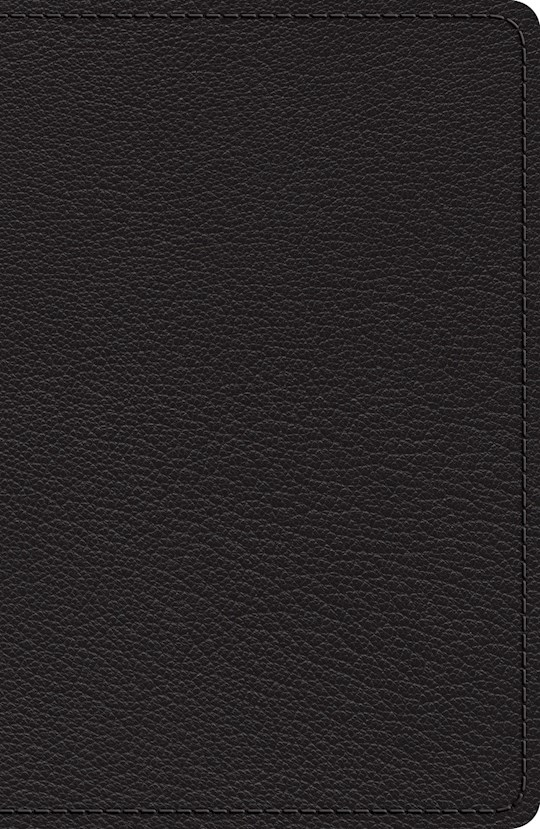 ESV Heirloom Single Column Legacy Bible-Black Goatskin | SHOPtheWORD