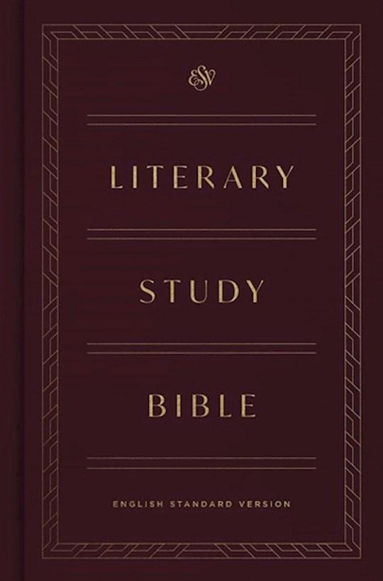 ESV Literary Study Bible-Hardcover | SHOPtheWORD