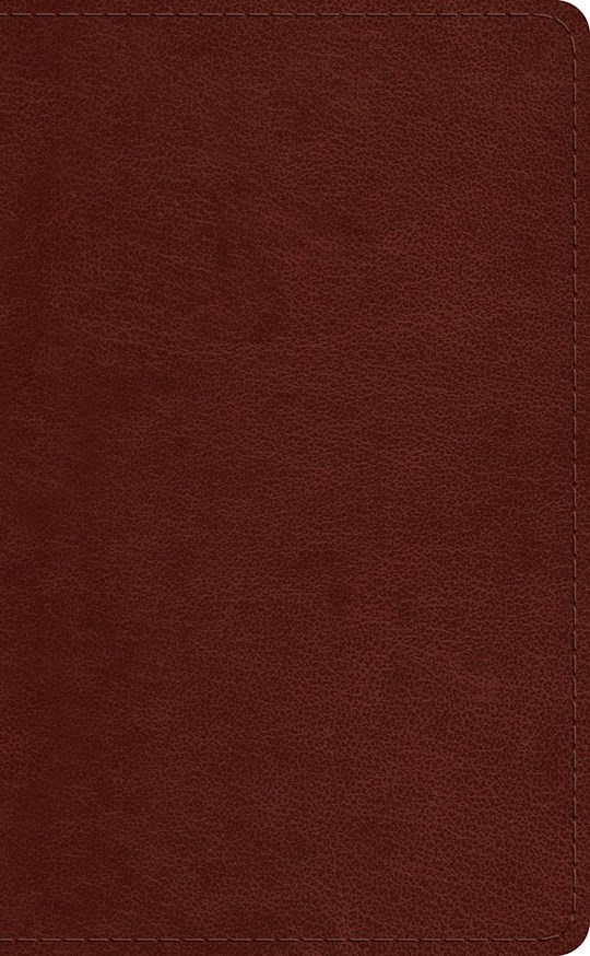 ESV Pocket Bible-Chestnut TruTone | SHOPtheWORD