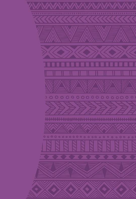 KJVER Sword Study Bible Giant Print Mosaic Purple Ultrasoft Indexed | SHOPtheWORD