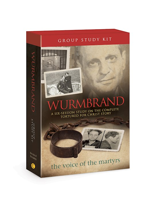 Wurmbrand Group Study (DVD & Books Set) by Ofthe Martyr Voice | SHOPtheWORD
