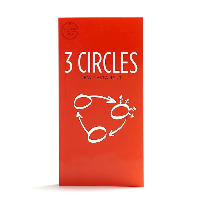 CSB 3 Circles Evangelism New Testament-Softcover | SHOPtheWORD
