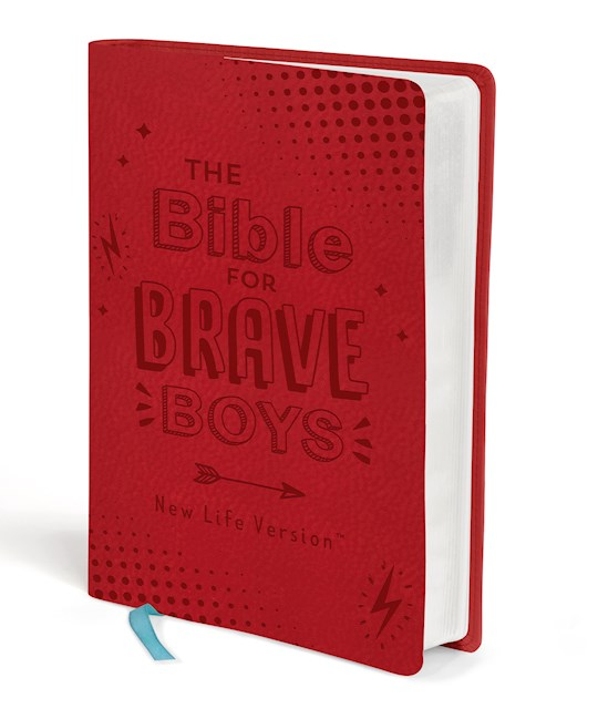 NLV-The Bible For Brave Boys-Red DiCarta | SHOPtheWORD