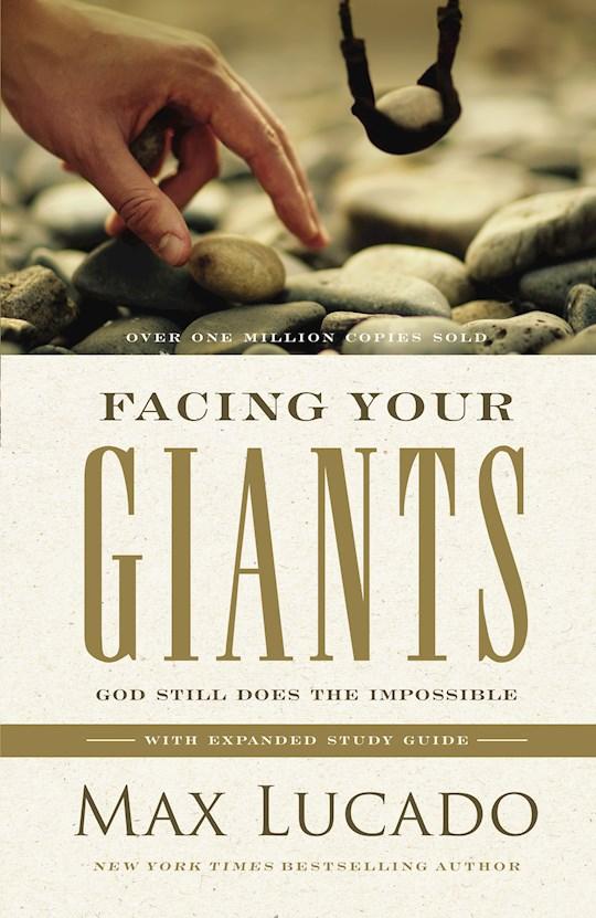 Facing Your Giants-Hardcover by Max Lucado | SHOPtheWORD