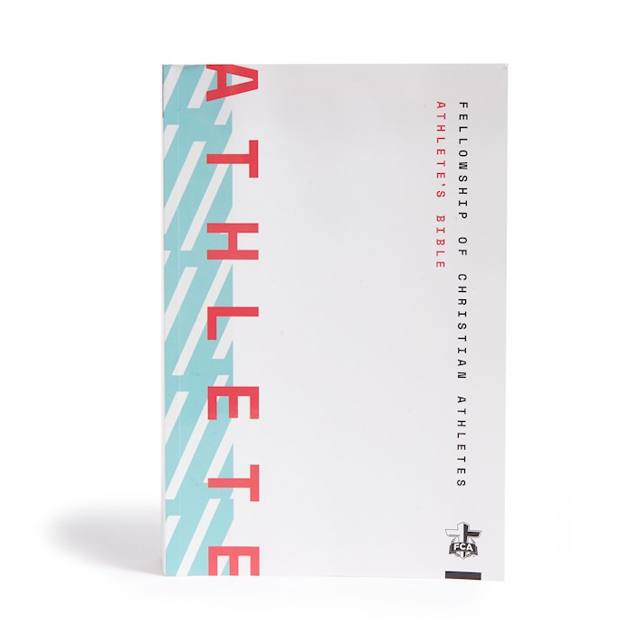 NLT Athlete's Bible (100% Edition)-Softcover | SHOPtheWORD