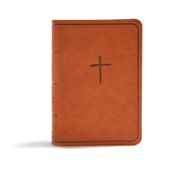 CSB On-The-Go Bible-Ginger LeatherTouch | SHOPtheWORD