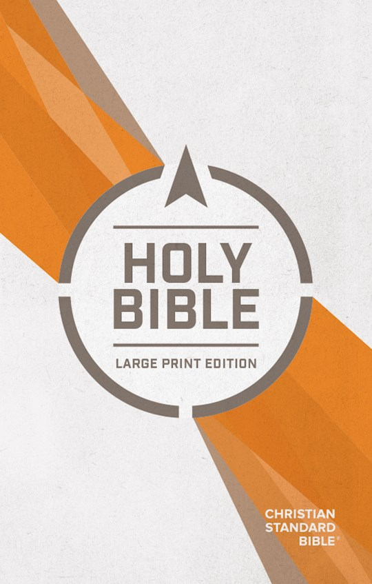 CSB Outreach Bible/Large Print-Softcover | SHOPtheWORD