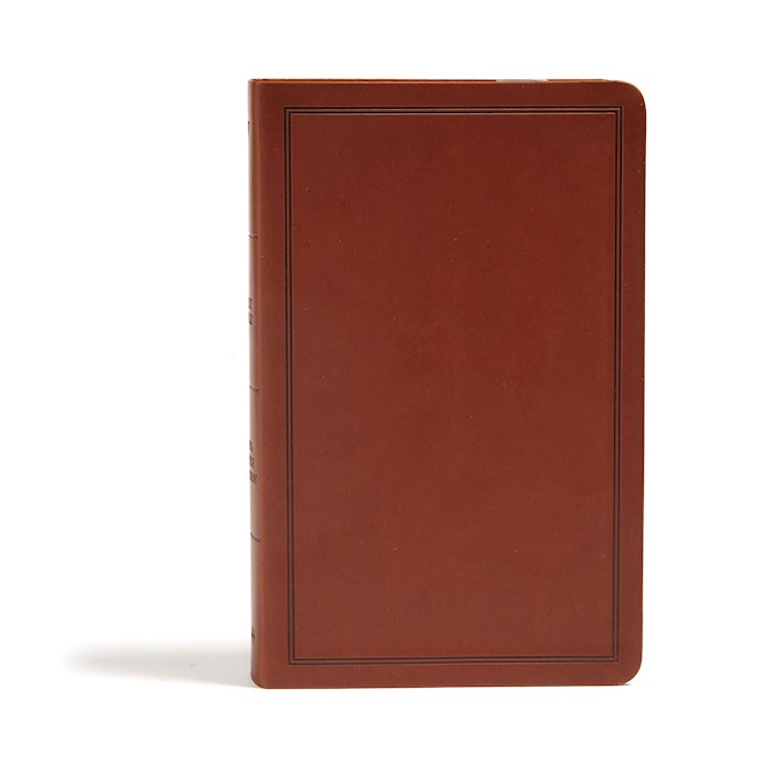 KJV Deluxe Gift Bible-Brown LeatherTouch | SHOPtheWORD