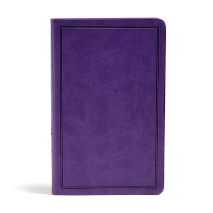 KJV Deluxe Gift Bible-Purple LeatherTouch | SHOPtheWORD