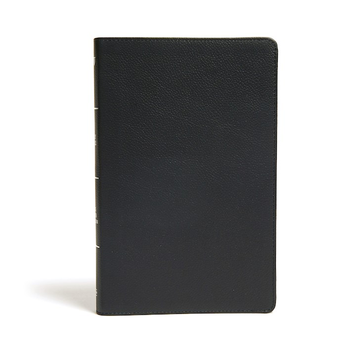 KJV Ultrathin Reference Bible-Black Genuine Leather | SHOPtheWORD