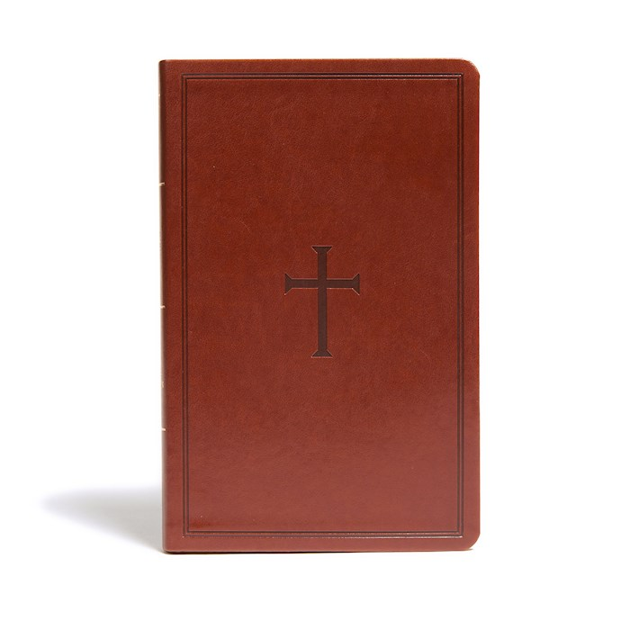 KJV Ultrathin Reference Bible-Brown LeatherTouch Indexed | SHOPtheWORD