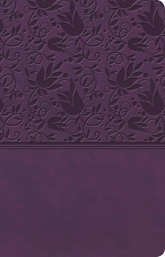 KJV Ultrathin Reference Bible-Purple LeatherTouch Indexed | SHOPtheWORD