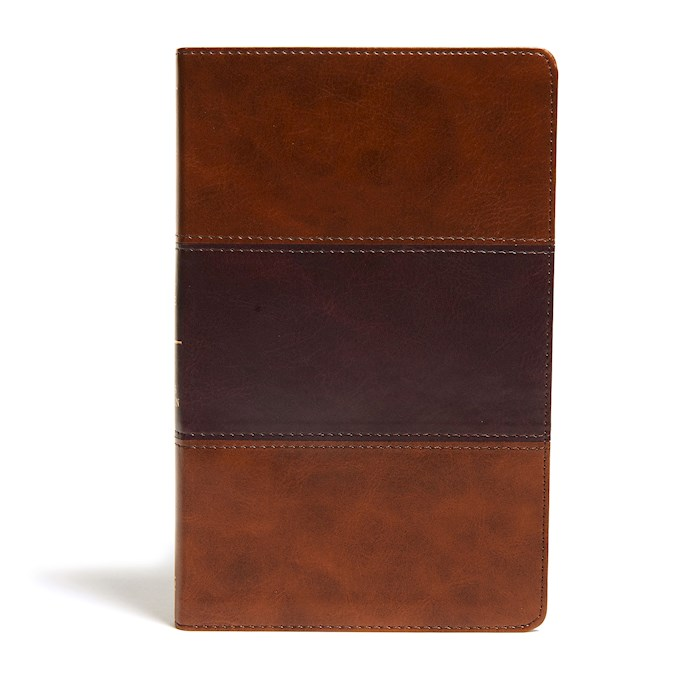 KJV Ultrathin Reference Bible-Saddle Brown LeatherTouch Indexed | SHOPtheWORD
