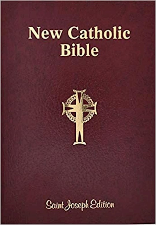 NCB St. Joseph New Catholic Bible Giant Type-Brown Flexible | SHOPtheWORD