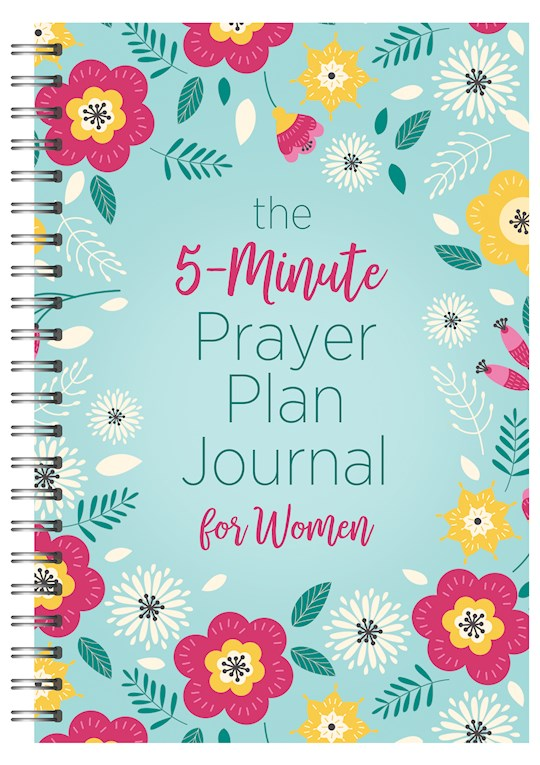 The 5-Minute Prayer Plan Journal For Women by Barbour | SHOPtheWORD