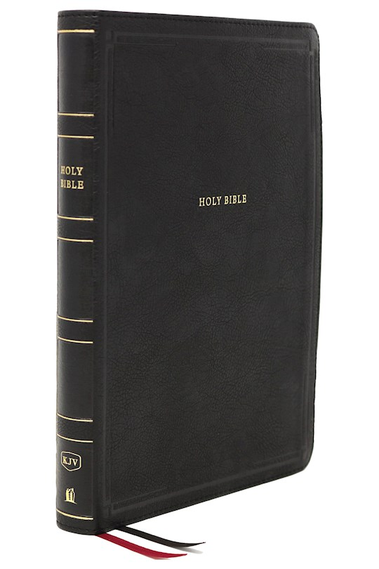 KJV Thinline Bible/Giant Print (Comfort Print)-Black Leathersoft | SHOPtheWORD