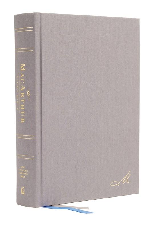 NASB MacArthur Study Bible (2nd Edition) (Comfort Print)-Hardcover | SHOPtheWORD
