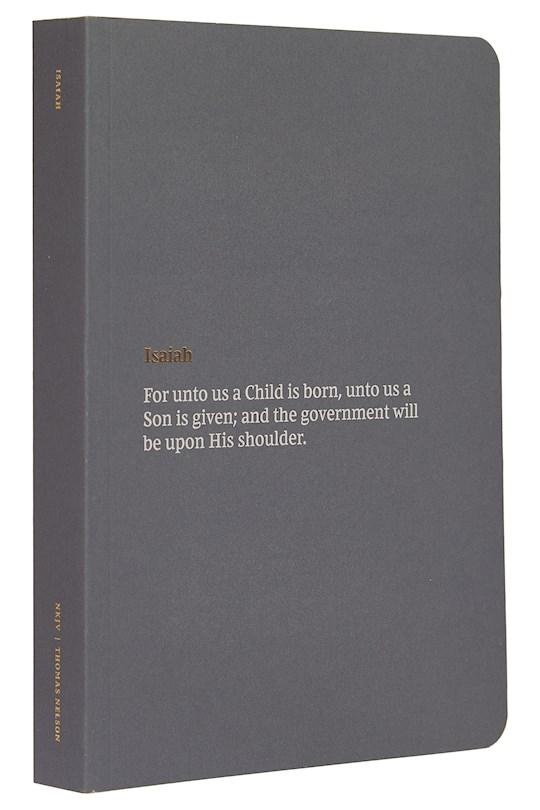 NKJV Bible Journal: Isaiah-Softcover   SHOPtheWORD