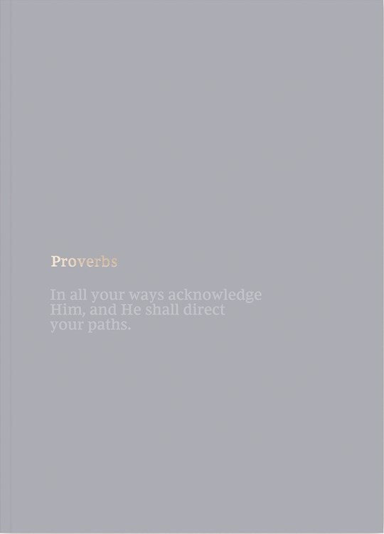 NKJV Bible Journal: Proverbs-Softcover | SHOPtheWORD