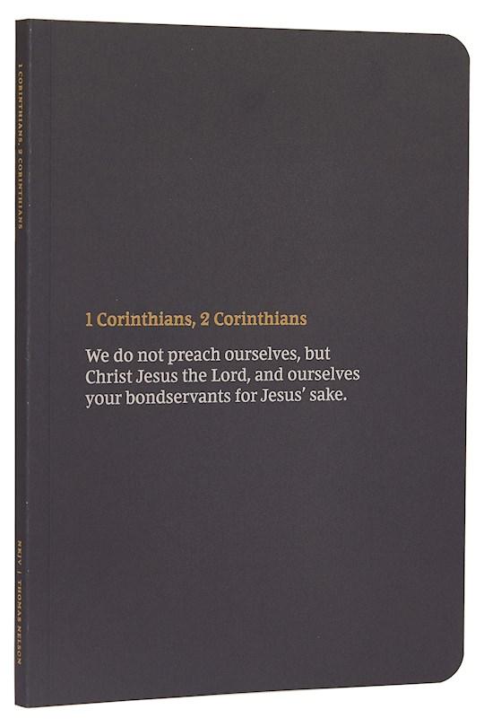 NKJV Bible Journal: 1-2 Corinthians-Softcover | SHOPtheWORD